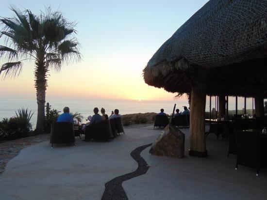 Todos Santos, Mexico: Sun setting - View from El Mirador