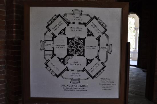 Natchez, MS: floor plan