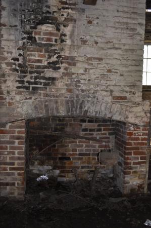 Natchez, Μισισιπής: fireplace