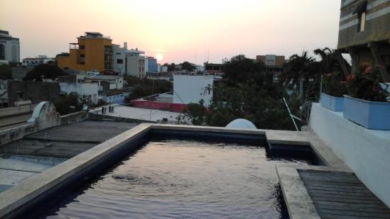 La Casa del Farol Hotel Boutique: vista desde la terraza