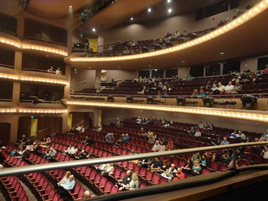 General Seating Shot Including Boxes Picture Of Mccallum Theatre
