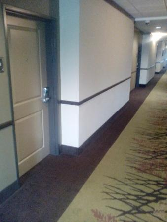 Emory, TX: Hall way inside hotel