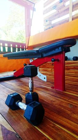 Playa Grande, Costa Rica: Flat bench