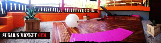 Playa Grande, Costa Rica: Gym yoga space