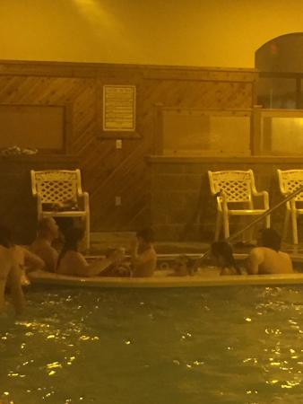 Strasburg, OH: Don't plan on using the hot tub!