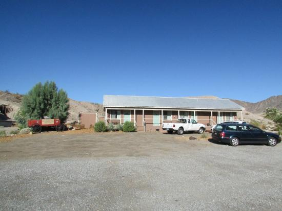 Shoshone Inn: Notre chambre était la première à gauche