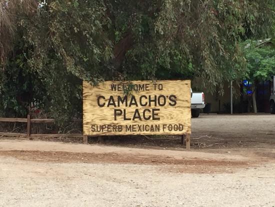Camacho's Place: 09April2016