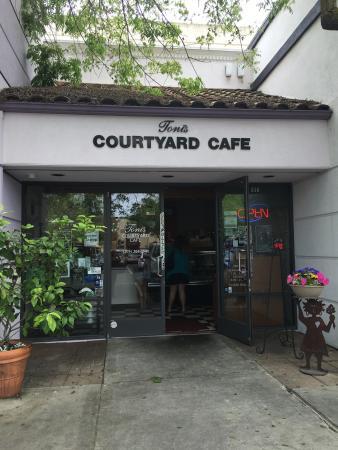 Toni S Courtyard Cafe Merced Menu