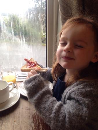 Sawrey, UK: Fab breakfast