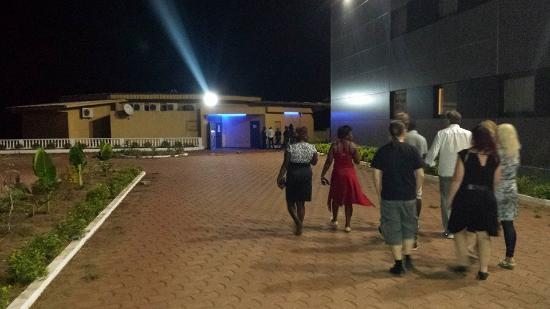 Franceville, กาบอง: yard