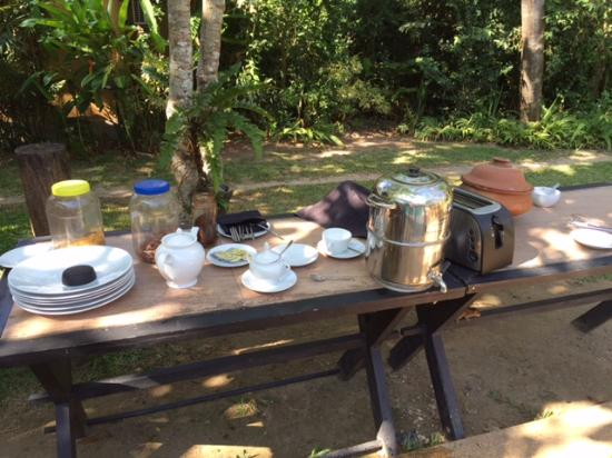 Tisara Villas: This was breakfast!!!!!