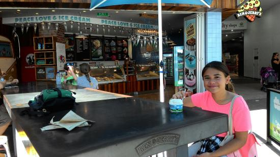 Ben and Jerry's Surfers Paradise