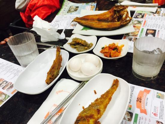 Love the tofu & seafood...