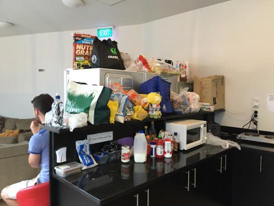 Newton Lodge: comedor