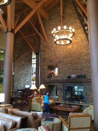 Union, WA: Gorgeous Lobby