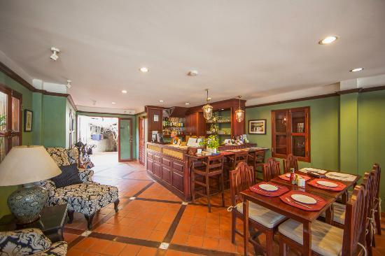 Hotel Villa Deux Rivieres: Restaurant