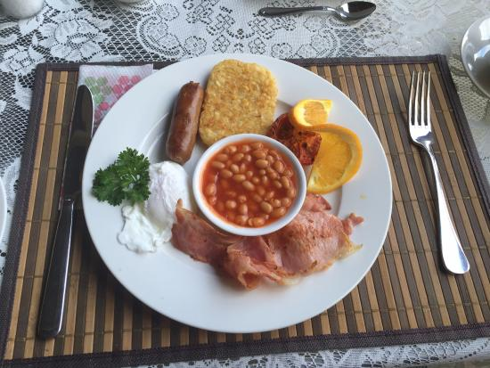 Peppertree Cottage: Scrumptious cooked Breakfast