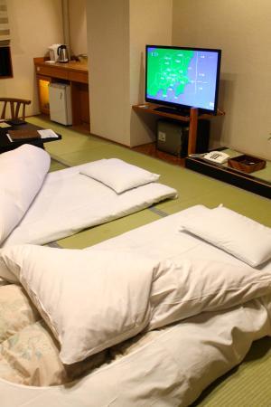 Futon Tatami comfortable futon bedding on tatami mat picture of sounkaku
