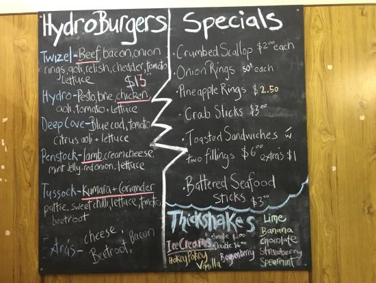 Twizel, Nowa Zelandia: Hydro Cafe