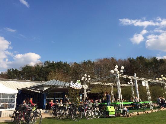 Bocholt, Tyskland: Strandcafe Ottilie