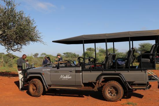 Madikwe Safari Lodge: Frühstück im Busch mit unserem Ranger Billie