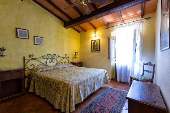 Montespertoli, Italy: Apt. Melograno: Double room