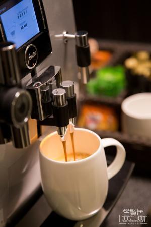 Lodgewood by L'hotel Wanchai Hong Kong: Complimentary Coffee, twist@lodgewood