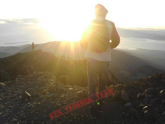 Lombok, Indonésia: Ken Climber Team