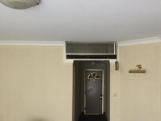 another old air conditioner in the family room picture of acacia rh tripadvisor com