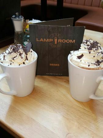 The Lamp Room: Gourmet hot chocolate