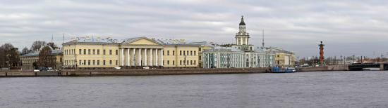 Кунсткамера: Вид на здание Кунсткамеры