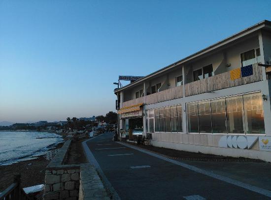 Sunprime Dogan Side Beach: Sea view rooms on first floor