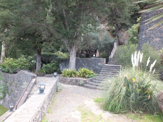 El Sauzal, Spain: Parque Los Lavaderos has a lot of steps
