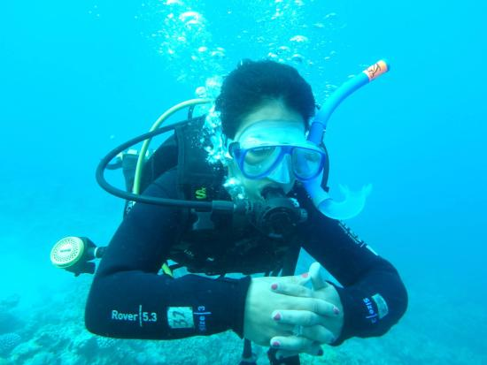 safe and confident diver after learning at ahlan picture of ahlan rh tripadvisor com