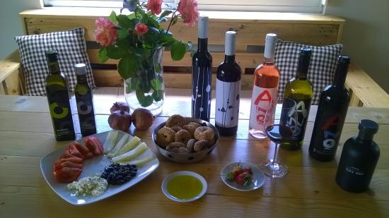 Anoskeli Winery: That much to taste with the guided Tasting Tour !!
