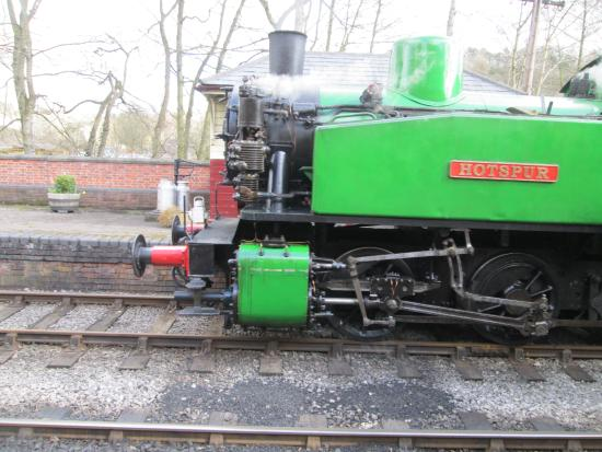 Froghall, UK: our steamy train