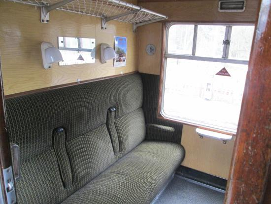 Froghall, UK: seat down, relax and enjoy the ride