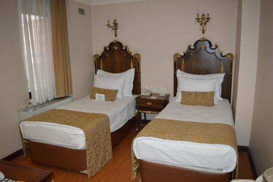 Ickale Hotel: Standarrum litet men mysigt.