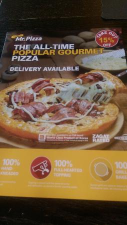 Mr Pizza Factory: Mr. Pizza menu