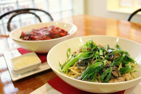 Creswick, أستراليا: Two of our pasta options