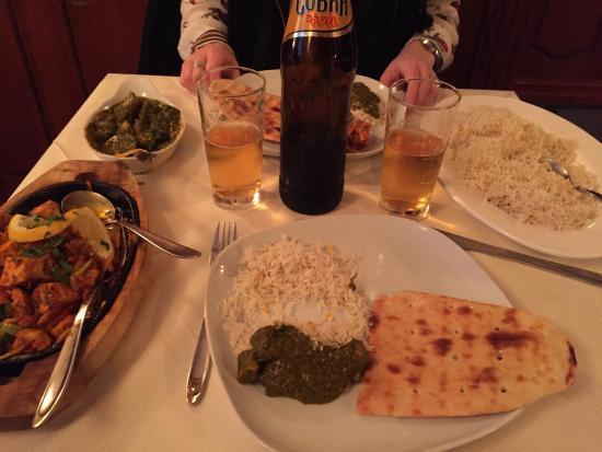 Tandoori Masala : Farverig, lækker mad