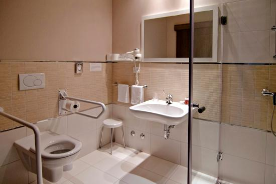 bathroom for people with special needs picture of medjugorje hotel rh tripadvisor ie