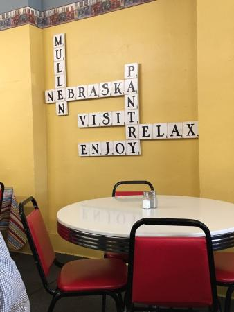 Mullen, NE: Local Food and true relaxation