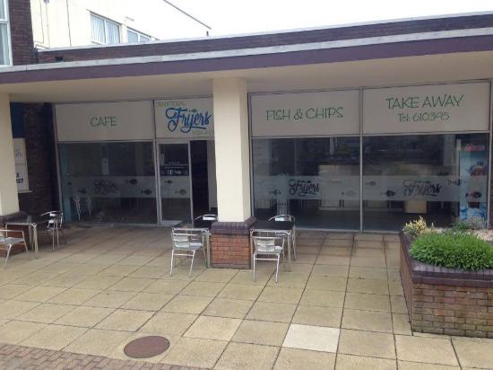 Onchan, UK: Shop front