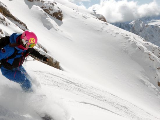 Ski Instructor Lynn Mill