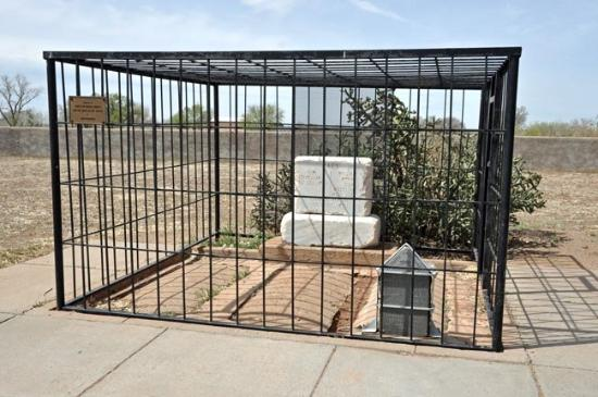 Fort Sumner, Nuevo Mexico: Billy The Kid's grave.