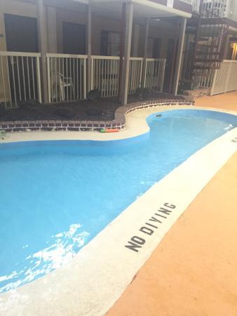 Richfield, OH: Pool area nice. Lockers in ladies. Floor picture in ladies locker room. Ants in our room picture
