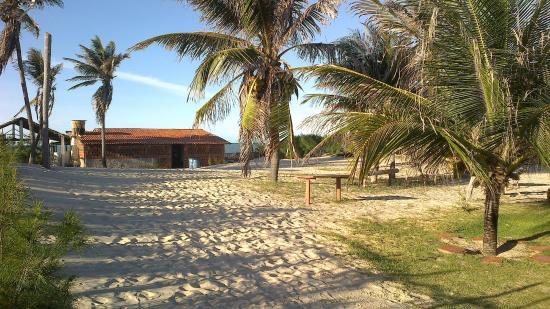 Canto Verde Beach: Vista da pousada