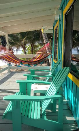 Blue Marlin Beach Resort: our deck