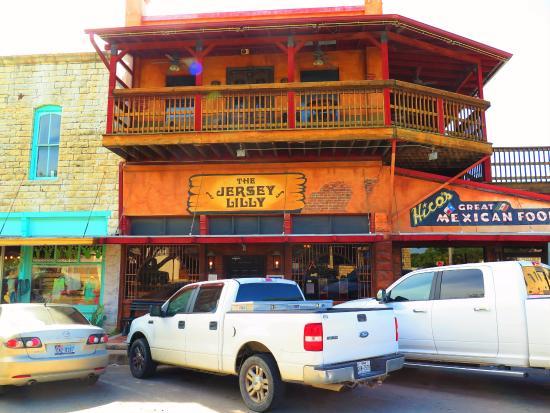 Hico, TX: Main entrance